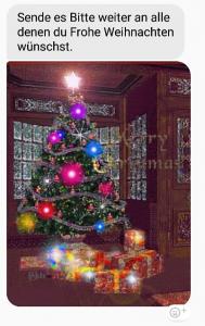 Kettenbrief zu Weihnachten