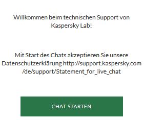 Kaspersky Live Chat