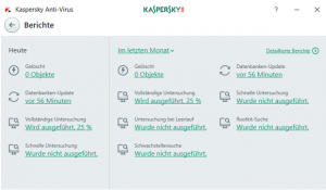 Kaspersky Berichte